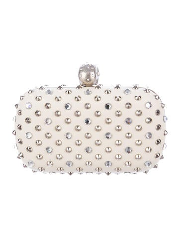 Studded Skull Clutch