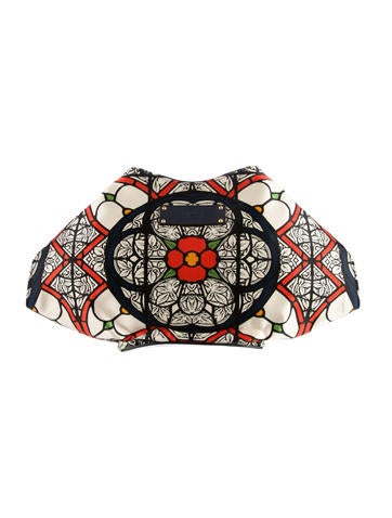 Stained Glass Print De Manta Clutch w/ Tags
