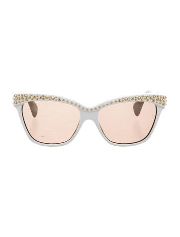 Studded Tinted Sunglasses
