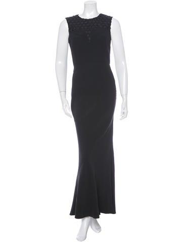 Alexander McQueen Sleeveless Gown None