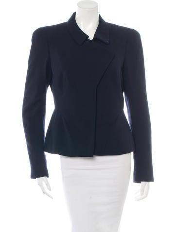 Alexander McQueen Wool Button-Up Jacket None