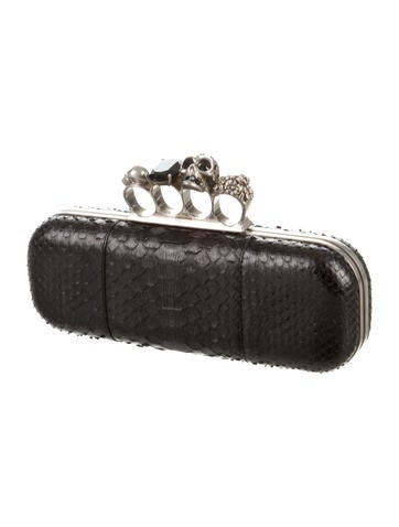 Python Knuckle Duster Clutch