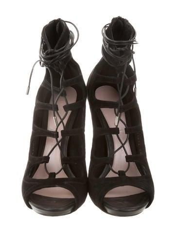 Cuba Lace-Up Sandals