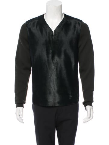 Alexander McQueen Ponyhair Wool Sweater w/ Tags None