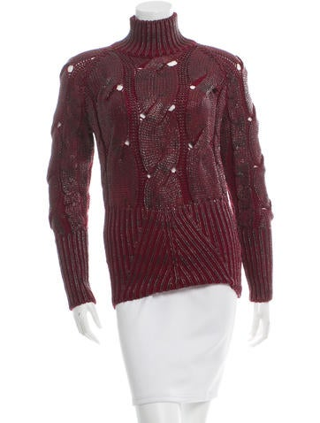 Alexander McQueen Wool Knit Sweater None