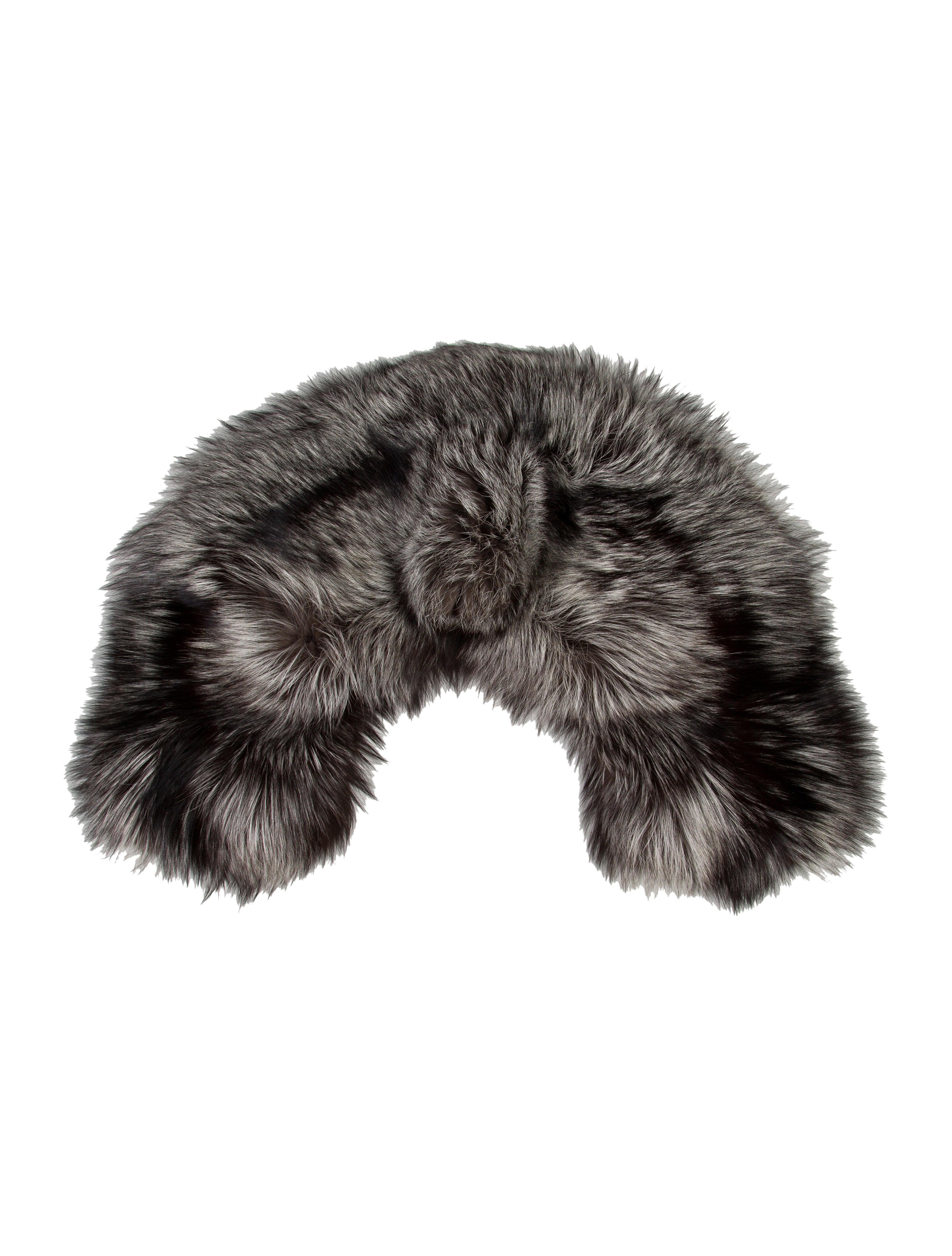 Alexander mcqueen fox fur stole accessories ale34371 the realreal - Stoel fur ...
