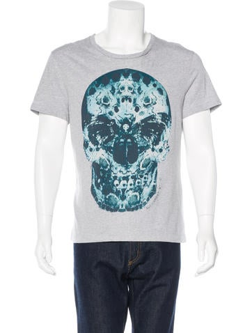 Alexander McQueen Skull Print T-Shirt None
