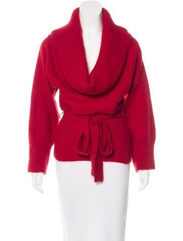 Alexander McQueen Wool & Angora-Blend Sweater None