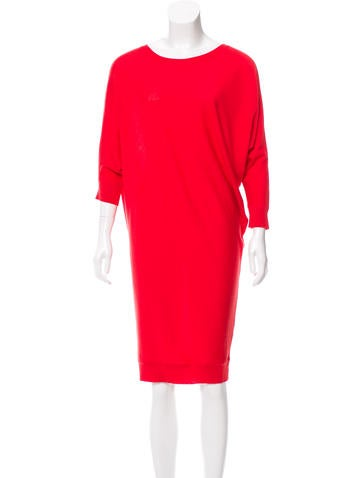 Alexander McQueen Wool Sweater Dress None