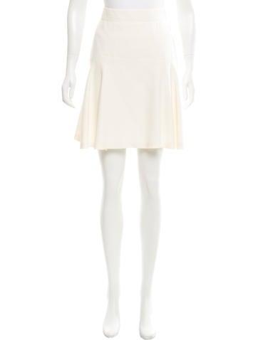 Alexander McQueen Flared Knee-Length Skirt None