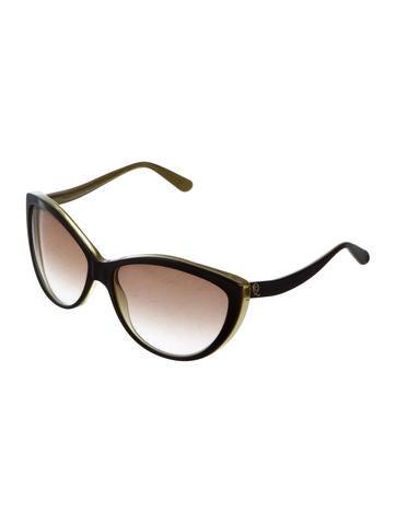 Logo-Embellished Cat-Eye Sunglasses