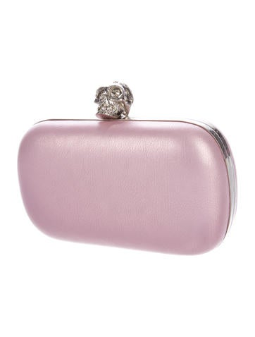 Skull Metallic Clutch