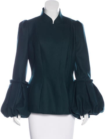 Wool Bell Sleeve Jacket