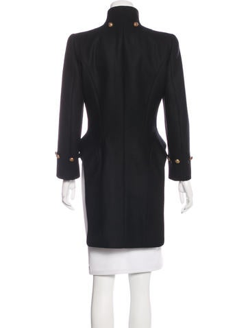 Virgin Wool Tuxedo Coat