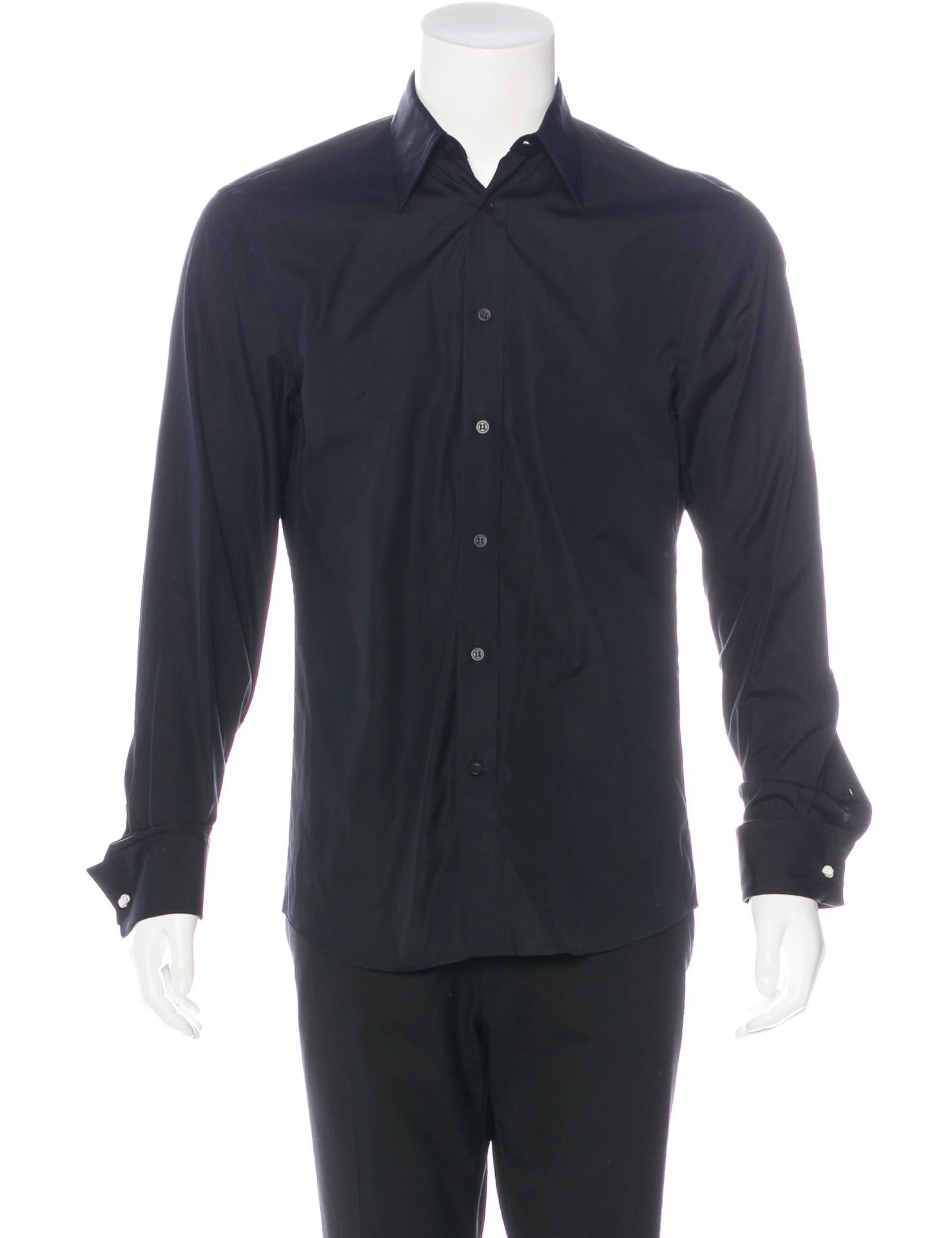 Alexander Mcqueen French Cuff Dress Shirt W Tags