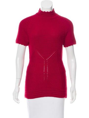 Alexander McQueen Wool Knit Top None