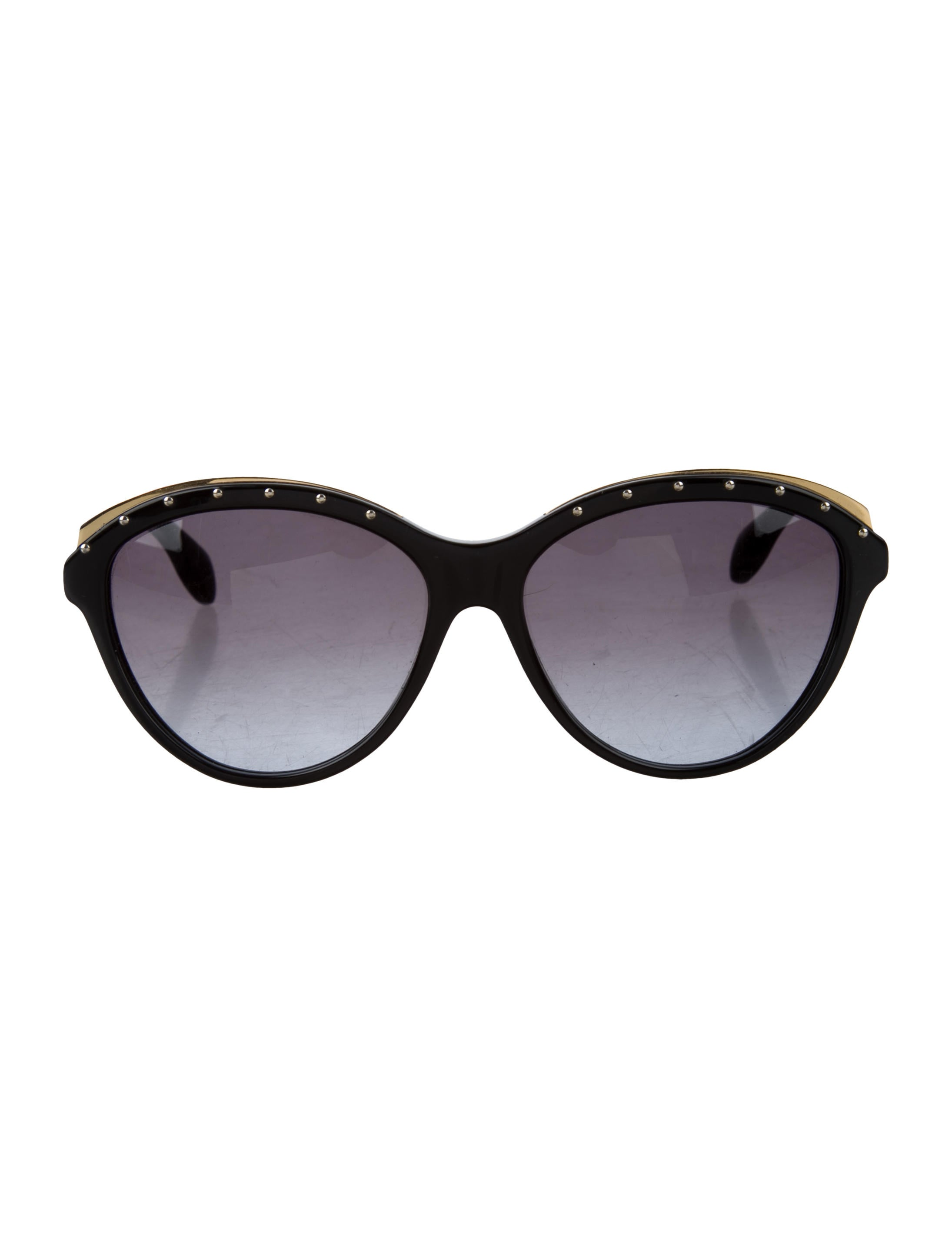5e164d8d95 Alexander McQueen Studded Cat-Eye Sunglasses - Accessories ...