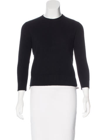Alexander McQueen Cashmere Charm-Embellished Sweater None