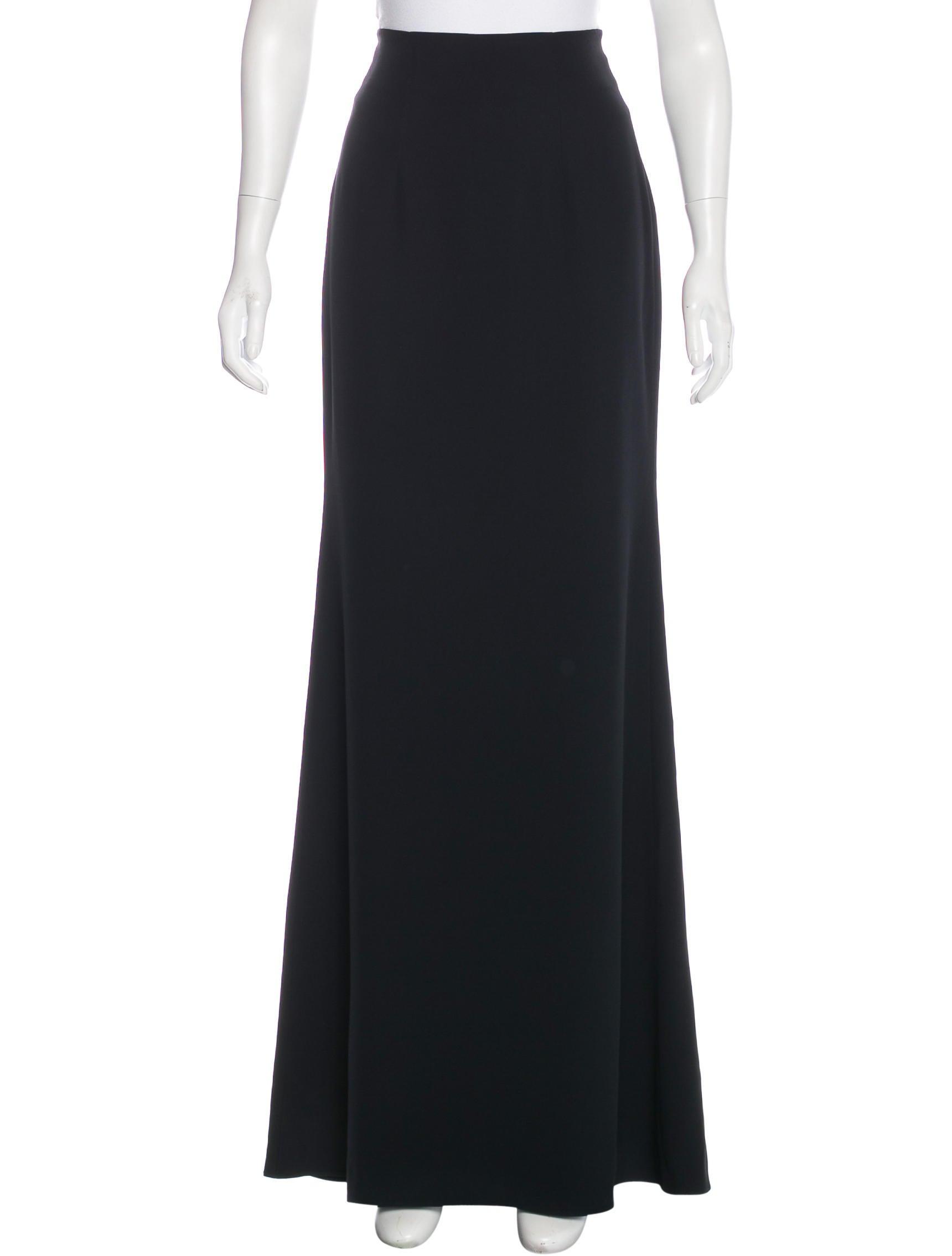 mcqueen pencil maxi skirt clothing ale40718