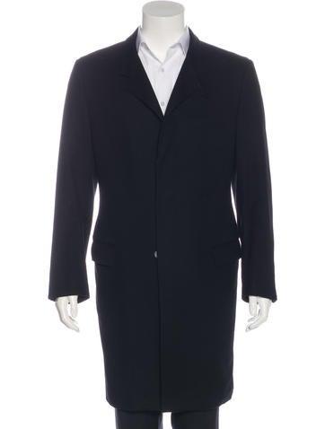 Alexander McQueen Wool Overcoat None