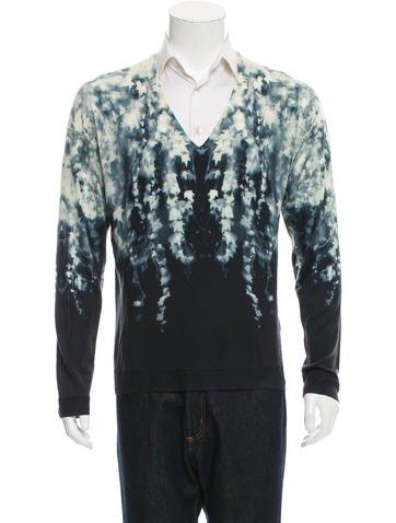 Alexander McQueen Wool V-Neck Sweater None