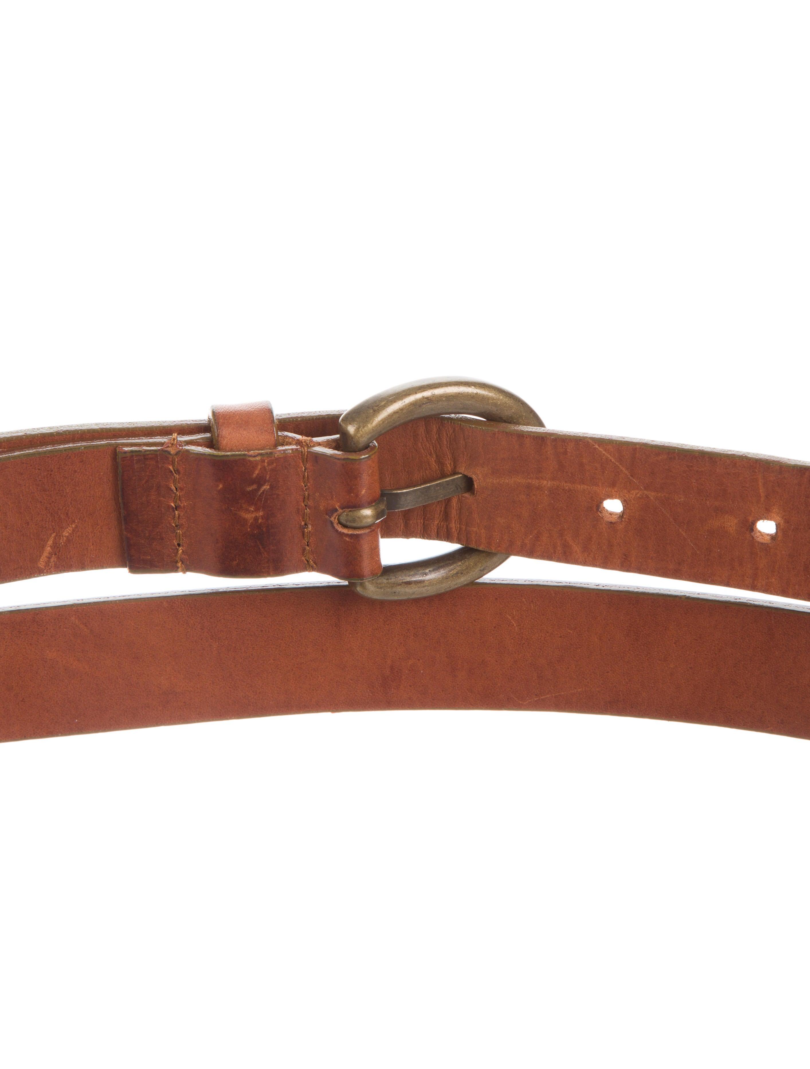 mcqueen leather wrap around belt accessories