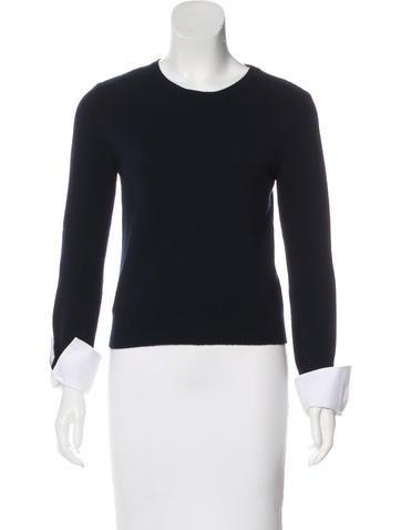 Alexander McQueen Wool Knit Sweater None