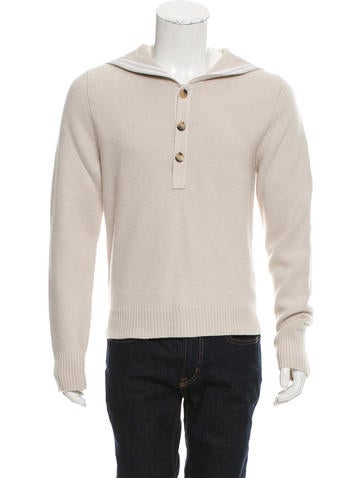 Alexander McQueen Embellished Wool Sweater None
