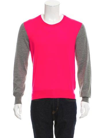 Alexander McQueen Cashmere Colorblock Sweater None