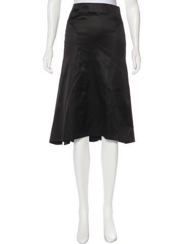 Alexander McQueen Knee-Length A-Line Skirt None