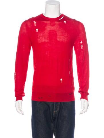 Alexander McQueen 2017 Wool-Blend Sweater w/ Tags None
