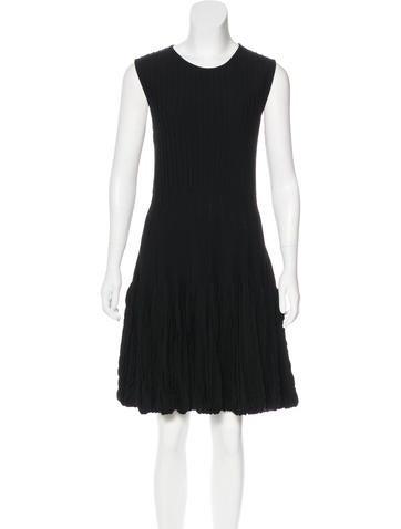Alexander McQueen Wool Knit Dress None