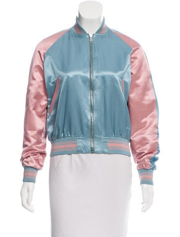 Alexander McQueen 2015 Embroidered Bomber Jacket None