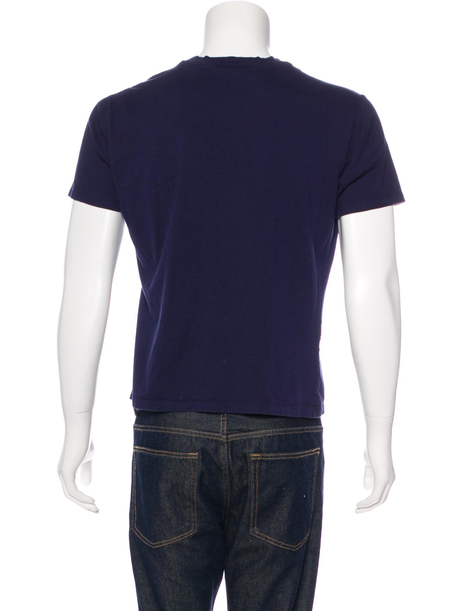 Alexander mcqueen skull graphic t shirt clothing for Alexander mcqueen shirt men