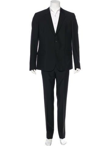 Alexander McQueen Wool & Mohair Suit None
