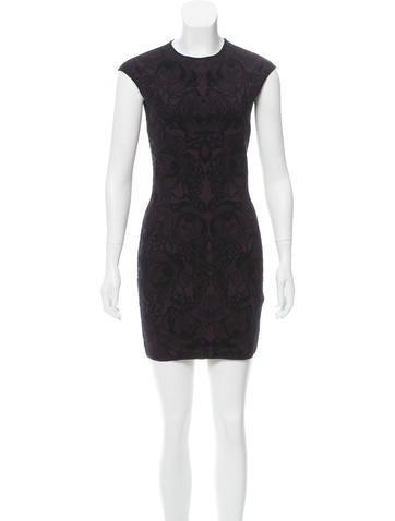 Alexander McQueen Bodycon Mini Dress w/ Tags None
