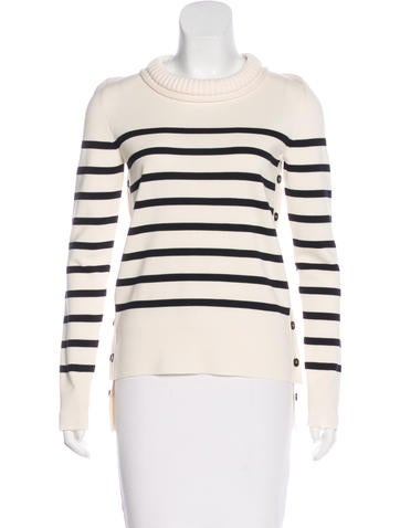 Alexander McQueen Wool Striped Sweater w/ Tags None