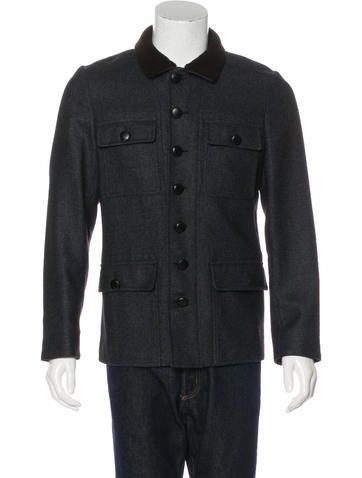 Alexander McQueen Wool & Silk Jacket None