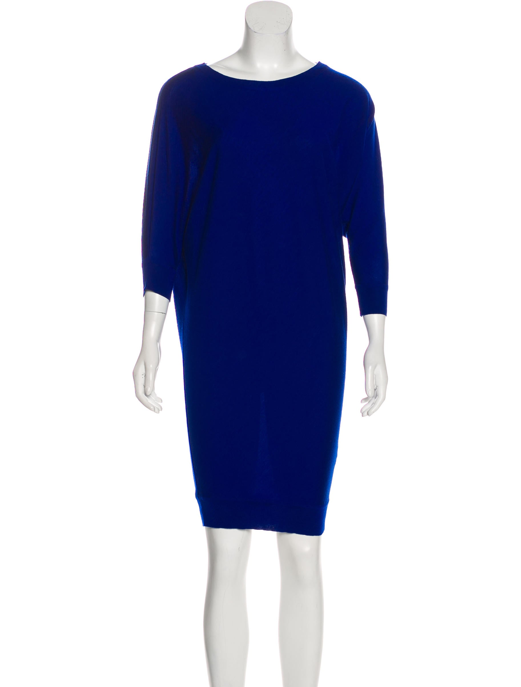 82ef7f1469a Alexander McQueen Sweater Knit Dress - Clothing - ALE51551