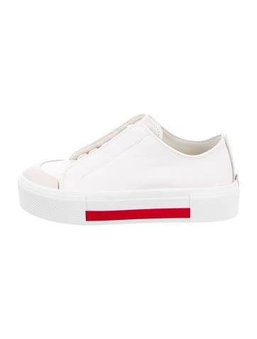 Alexander Mc Queen Canvas Low Top Sneakers W/ Tags by Alexander Mc Queen