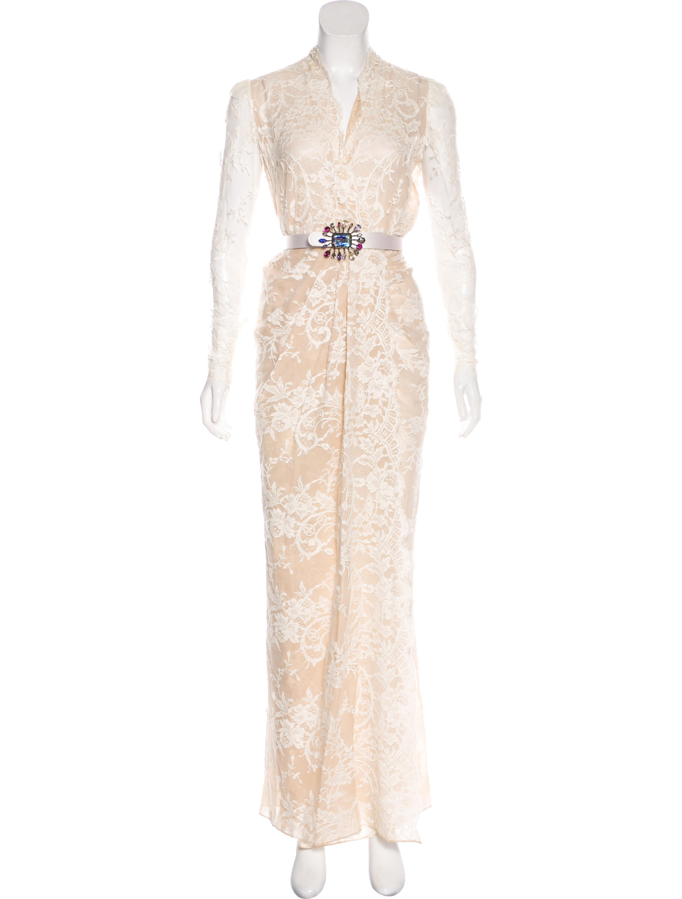 Alexander McQueen 2016 Sara Gown - Clothing - ALE53136 | The RealReal