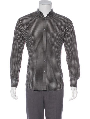 33c6aa441 Alexander McQueen. Skull Print Dress Shirt