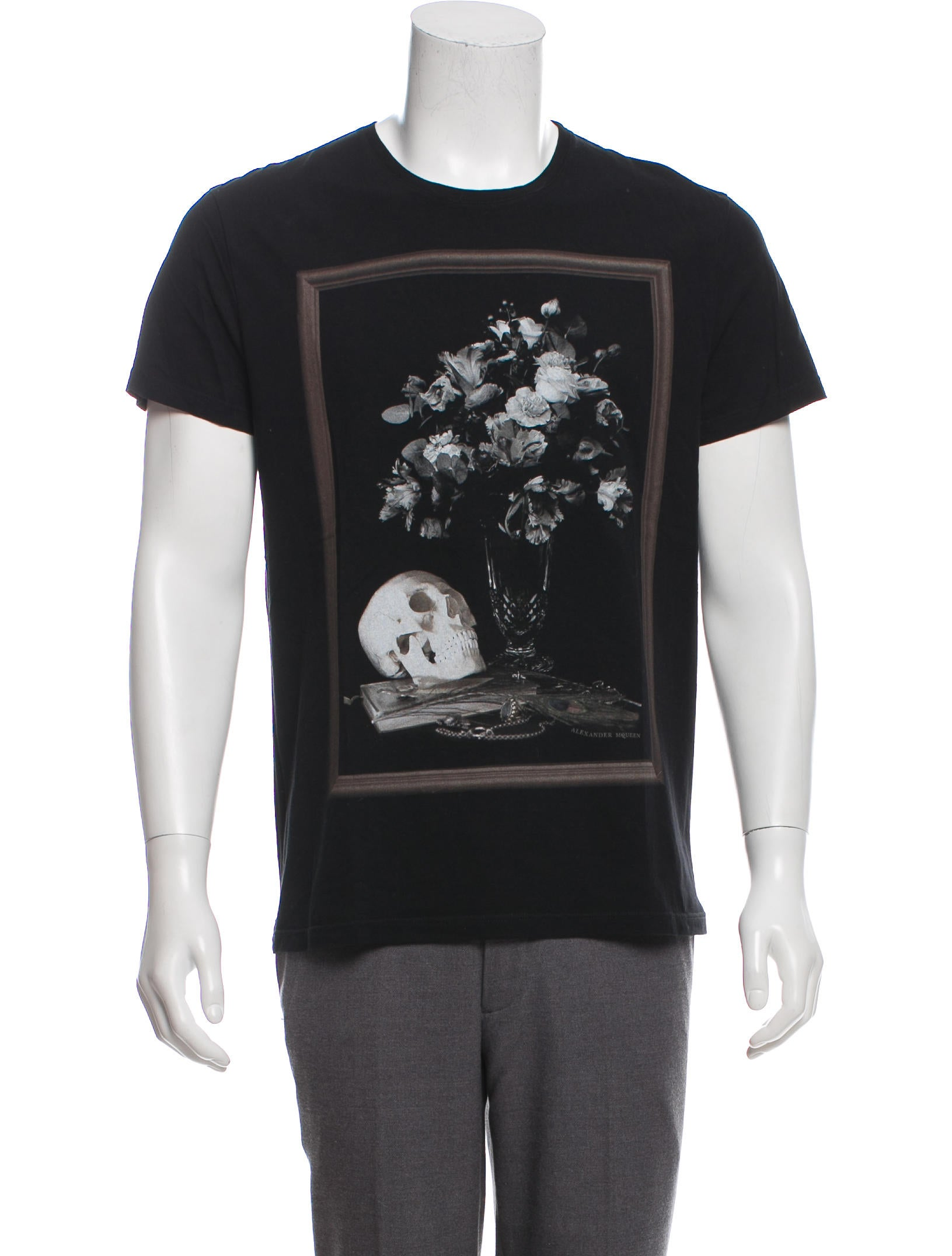 b27900d0b Dior Homme Bee-Accented Short Sleeve T-Shirt - Clothing - HMM26983 ...