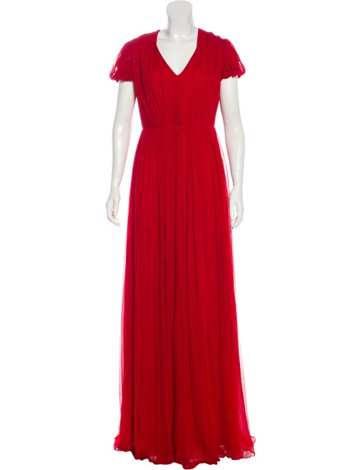 Alexander McQueen Silk Dress