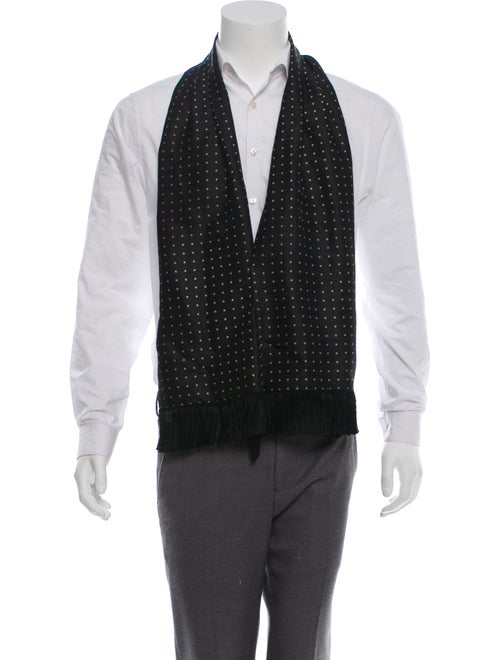 Alexander McQueen Wool & Silk Suit Vest black