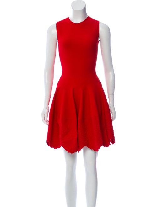 Alexander McQueen Sleeveless Bodycon Dress