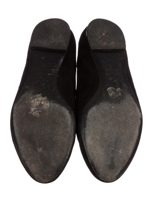 Suede Skull Loafers