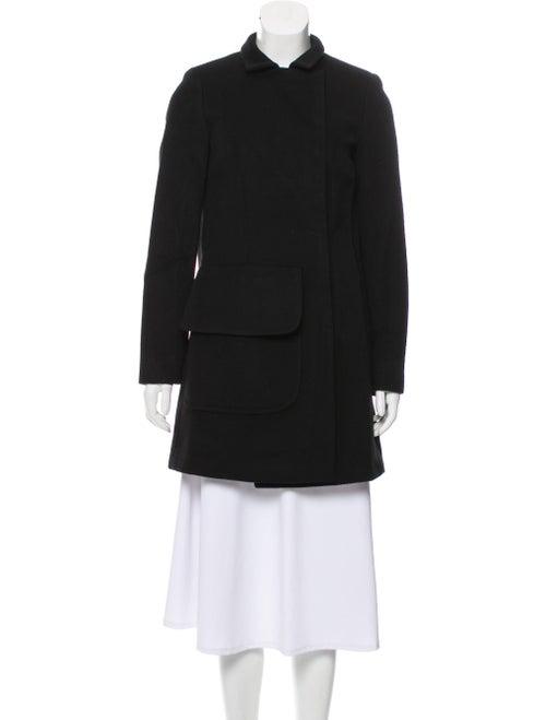 Alexander McQueen Cashmere Short Coat Black