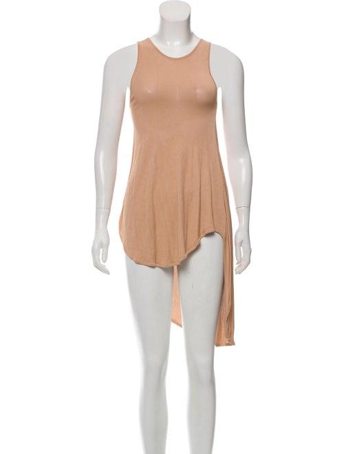 Alexander McQueen Knit Asymmetrical Dress