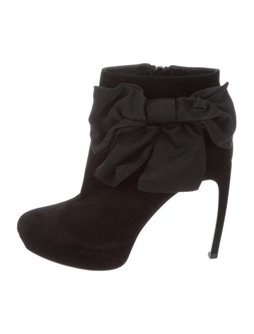 Alexander McQueen Platform Ankle Boots Black